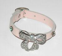 Armband mit 11 Steiff Knöpfen 23cm Original Steiff Zubehör weißes Halsband
