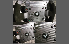 Fits Thrustmaster TS-PC Steering Wheel CARBON Styling & Scratch Protection Kit