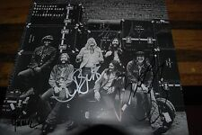 Allman Brothers Band Group signed  At Fillmore East LP Gregg Allman +3