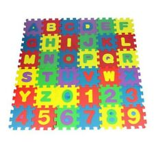 36pcs Alphabet Numbers EVA Floor play Mat Baby Kids Room Jigsaw ABC foam Puzzle