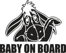 Eore Baby on Board Panda Car/Window JDM VW EURO DUB Vinyl Decal Sticker