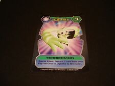 Bandai Digimon Card Dt-35 Terriermon-Good Condition-Free Combined Shipping
