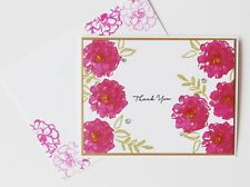 Thank You Blossoms Handmade Greeting Card