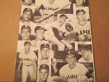 JKW 1963 Los Angeles Angels CHANCE,BELINSKY..REDUCED