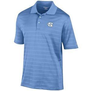 Champion-Men's North Carolina Textured striped Polo shirt  ,SIZE: Mens: X-Large