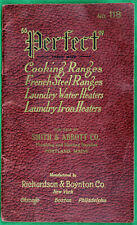 Original 1915 Perfect Cooking Ranges/Water Heaters Catalog