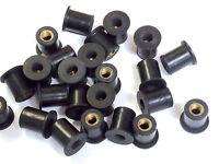 Kawasaki 92015-1757 M5 Rubber Well Nuts Fairing & Screen well nut x 30 FreeukP&P