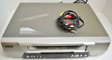 New listing Sanyo Vwm-385 Video Cassette Recorder 4 Head Vcr Tested & Working With Cables