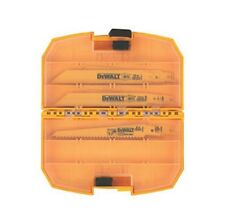 Dewalt DW4890 Bi-Metal Reciprocating Saw Blade Set with Medium Tough Case, 15 pc