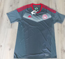 Olympiakos Piräus Trikot in grau rot - 4 Sterne - Größe XL - von Adidas