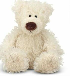 Melissa & Doug Baby Roscoe Vanilla Teddy Bear