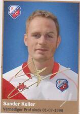 AH 2009/2010 Panini Like sticker 220 Sander Keller FC Utrecht
