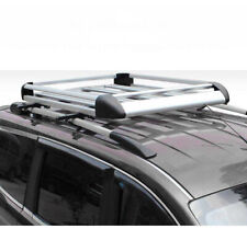 160*100 Sliver Aluminium Alloy SUV 4x4 Roof Rack Basket Cargo Luggage Carrier