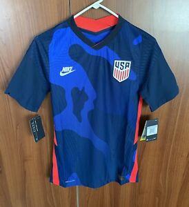 Nike Authentic 2020 USA US Soccer Vapor Match Away Jersey XS