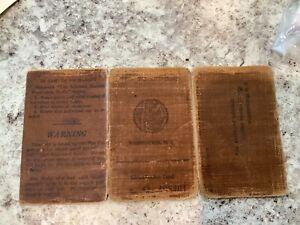 Original WWII Sergeants Identification Card Infantry Army War Department