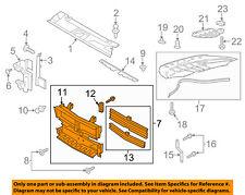 FORD OEM 2015 Mustang Radiator-Grille Shutter FR3Z8475A
