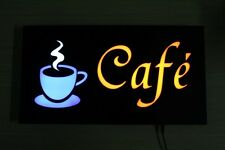 Fashion Coffee Advertising Cafe Display Led Sign Neon Light Sign Cafe Shop Us-1A