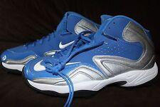 Nike Football Cleats  Blue Silver  $80 Mens 13.5, 14