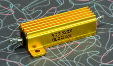 One RCD 880 Ohm, 50W Non-Inductive Wirewound Cathode Resistor