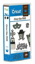 CRICUT *OVER THE HILL*  EVENTS CARTRIDGE *40 50 60 BIRTHDAY GAG CARDS CAKE* NEW