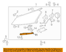 Chevrolet GM OEM Traverse Headlight Head Light Lamp-Lower Support Left 20986176