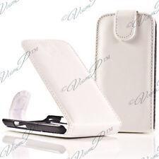 Accessoire Housse Coque Etui Rabattable Simili Cuir BLANC LG F70 D315/ LTE