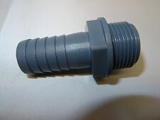 Hosetail Male Adapter BSP for Hose for Ponds, Aquatics, Irrigation, Gardens