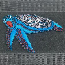 Adrift Venture - Honu Morale Patch - Hawaii Sea Turtle Scuba Polynesian tribal