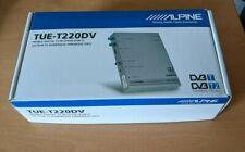 Alpine TUE-T220DV DVB-T/T2 Receiver, NEUw. in OVP