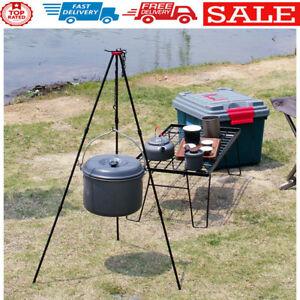 SUNDICK Outdoor Camping Equipment Hanging Cooking Pot Campfire Picnic Tripod
