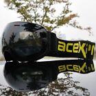 Ski Goggles Double Layers Uv400 Anti-fog Big Ski Mask Glasses Skiing Snow Goggle