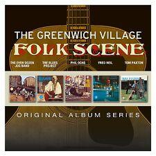 GREENWICH FOLK SCENE - ORIGINAL ALBUM SERIES 5 CD NEW+ PHIL OCHS/FRED NEIL/+