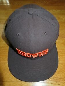 New Era 59FIFTY CLEVELAND BROWNS (Size 8) Cap