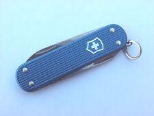 Victorinox Dark Blue Ribbed Alox Swiss Army Knife
