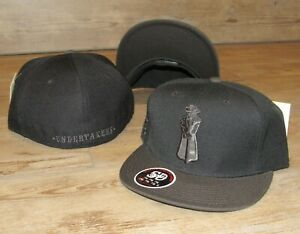 Des Moines Undertakers Tonal Iowa Cubs Stall & Dean Fitted Hat Cap Size 7 5/8