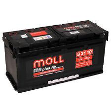 Moll m3 plus k2 83110 110Ah 12V PREMIUM Starterbatterie Autobatterie *NEU*