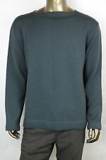 New GUCCI Men's Musky Green Crew Neck Wool Sweater Top 3XL 359353 4705