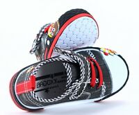 NEW BOX BOYS Canvas shoes trainers BABY BOY Real leather insoles size 10UK
