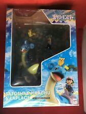 G. E.M.Séries Pokemon Ash Ketchum, Pikachu, et Lapras Japon de Figurine
