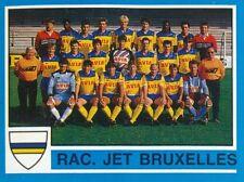 182 TEAM BELGIQUE RACING JET BRUXELLES STICKER FOOTBALL 87 PANINI