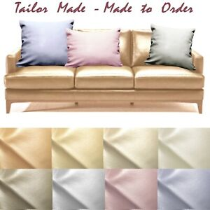 Tailor Made(Cover Only) Faux Leather Sofa Patio Bench Cushion Pillow Case Pb5