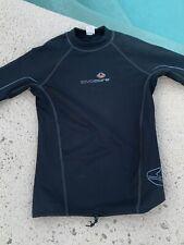Lavacore Men's Polytherm Long Sleeve Scuba Diving Shirt Black Size Medium