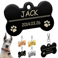 Chapa identificación / Placa identificacion para collar gatos y perros GRABADO