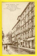 Carte Postale Ancienne FRANCE 06 - NICE 3 rue Alsace Lorraine HÔTEL OSTENDE