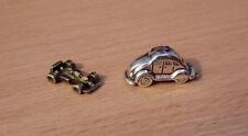 1/12 Casa de muñecas en miniatura 2 X Metal Coches De Juguete Dinky Infantil Juego Juguetes Set Lbv