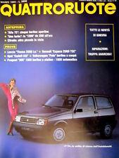 Quattroruote 353 1985 Anteprima Alfa 75: 5 berline sportive. Y 10 1000  [Q100]