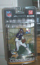 McFARLANE NFL LEGENDS 6 RANDALL CUNNINGHAM VARIANT CHASE VIKINGS FOOTBALL FIGURE
