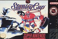 NHL Stanley Cup (Super Nintendo SNES) Game Cartridge Free Fast Shipping
