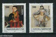 Europa Sympathy 1992 Joegoslavië 2562-2563 Kinderontmoeting Vreugde van Europa