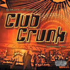 DJ CRUNK MIX - CLUB CRUNK: CONTINUOUS MIX [PA] NEW CD
